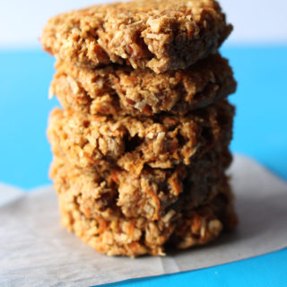Vegan Coconut Carrot Cake Cookies