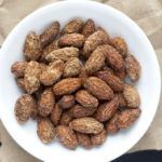 5 Minute Cinnamon Roasted Almonds