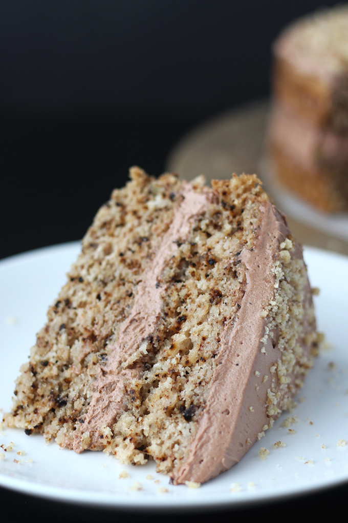 Vegan Walnut Cake