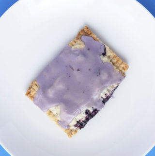 Vegan Blueberry Poptarts